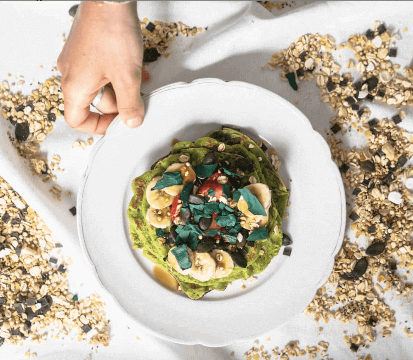 Read more about the article Pancake proteici alla spirulina